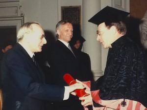 Verlehung des Ehrendoktorats der Uni Graz